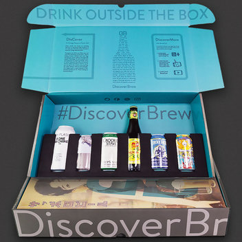 15 DiscoverBrew Craft Beer Boxes to be claimed