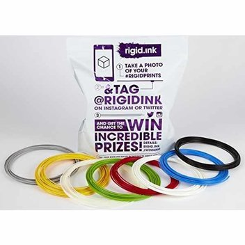 Free Rigid Ink 3D Filament PLA or ABS sample