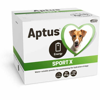 Free Aptus Sport X re-hydration drink for dogs