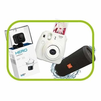 Get a GoPro Action Camera, Fujifilm Instax & JBL Bluetooth Speaker