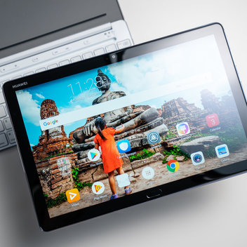 Win a Huawei MediaPad M5