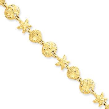 Win a 14 Karat Yellow Gold Seashore Bracelet