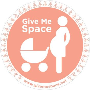 Claim free Give Me Space stickers