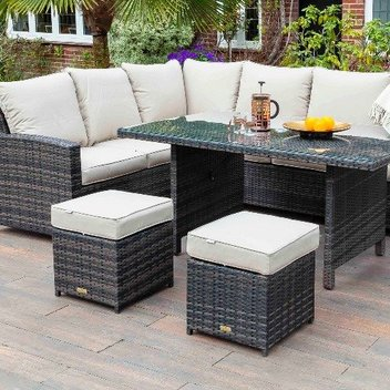 Spruce up your home with a rattan sofa dining set worth £990
