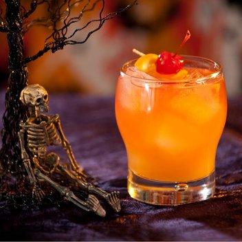 Enjoy a free BACARDÍ Halloween Cocktail