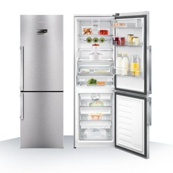 Win a stylish fridge freezer from Grundig