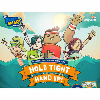 Free HOLD TIGHT, HAND UP! Safety Pack