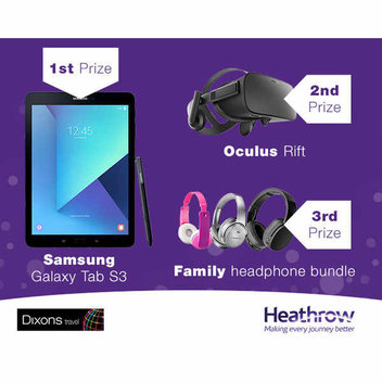 Win a Samsung Galaxy Tab & tech prizes
