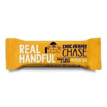 Redeem a free set of Real Handful Protein bars