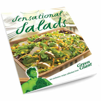 Free Green Giant Sensational Salads Recipe Booklet