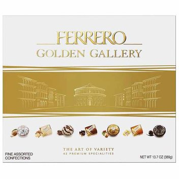 Get a free Ferrero Golden Gallery