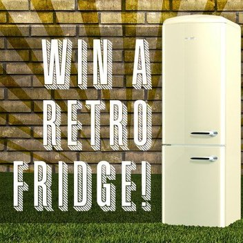 Snap up a Gorenje Retro Fridge Freezer worth over £1000