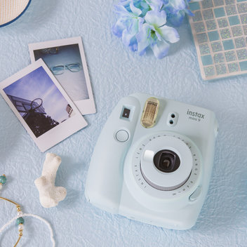 Win an Ice Blue Instax Camera