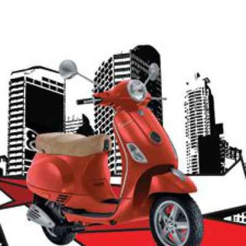 Win a Vespa from Baumatic