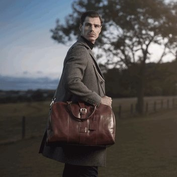 Win a Maxwell-Scott Leather Luggage Bag worth £700