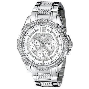Win a Guess Silver Glitz Ladies watch
