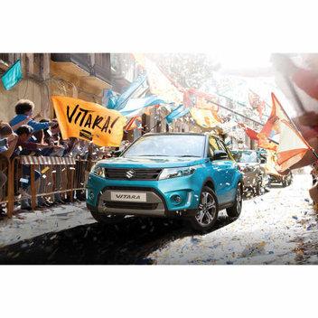 Win a Suzuki Vitara for a friend