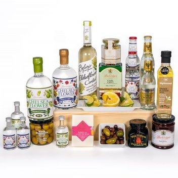 Get a free a 'Gin Lovers Hamper' from Partridges of Sloane Square