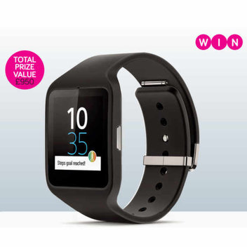Win 1 of 5 Sony Smartwatches from Stuff