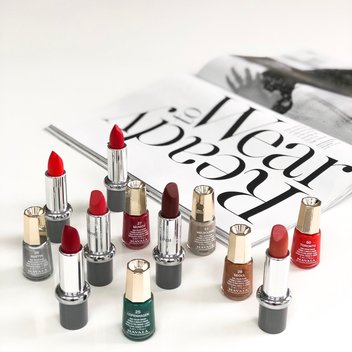 Win 6 Mavala lipsticks