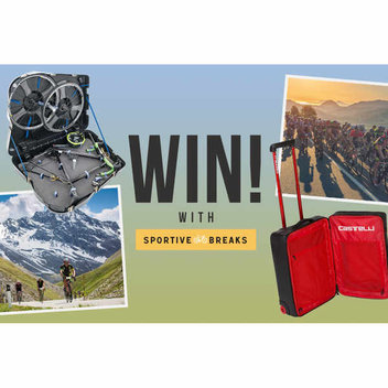 Win 1 of 3 Cycling prizes worth £1000
