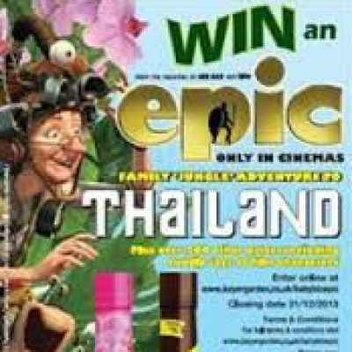 Win a trip to Phuket for the family or get a stuffed toy