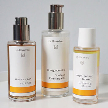 Redeem a free Dr. Hauschka Cleaning Bundle