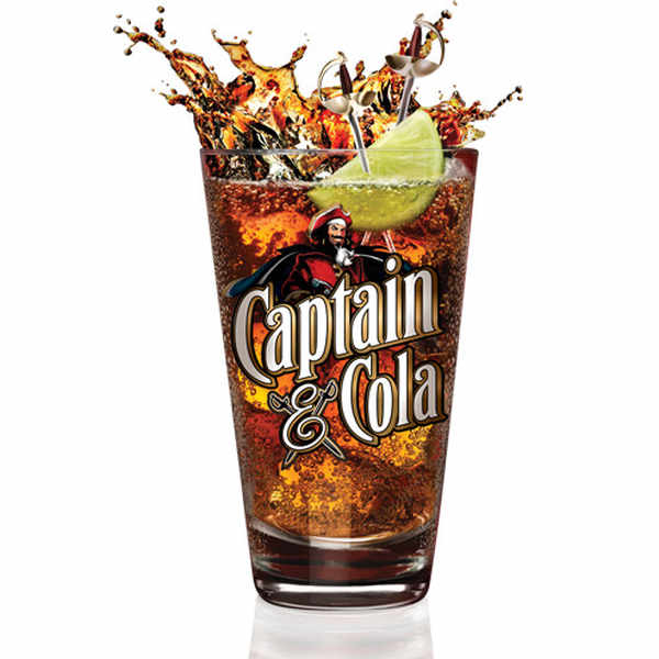 Complimentary Captain & Cola