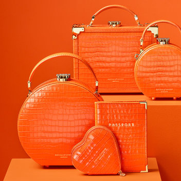 Head to London Fashion Week with an Aspinal of London handbag for free