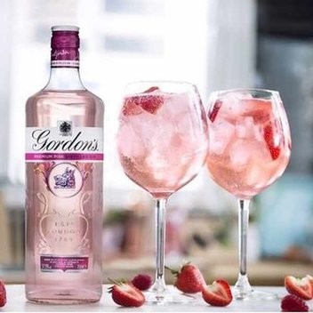Get a free Gordon's Pink Gin Cocktail