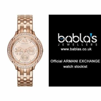 Win an Armani Exchange AX5406 Ladies watch