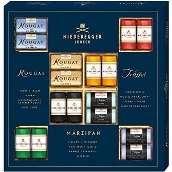 Try out the new Master Selection box from Niederegger UK