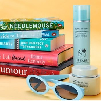 5 brilliant books & a beautiful skincare bundle from Liz Earle to be won