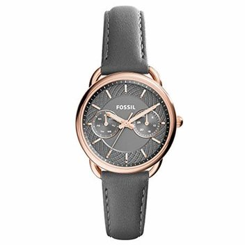 Win a Fossil Woman Watch in Grey