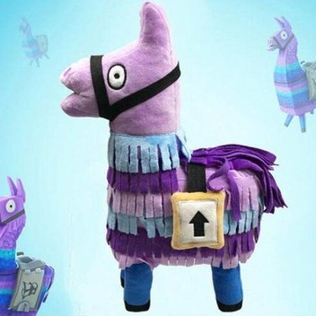 Free Loot Llama Teddys up for grabs