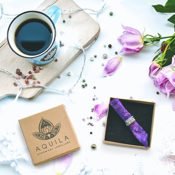 Win a set of 4 rings from Aquila Jewellery