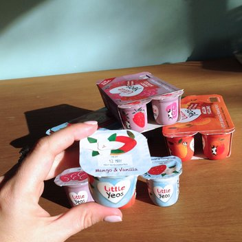 Free Baby Yoghurt from Yeo Valley