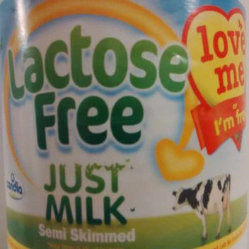 Try Lactose free Just Milk for free
