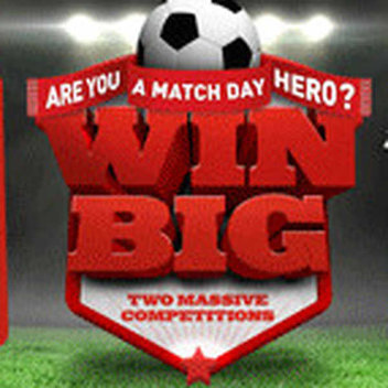 Match Day Hero prizes with Ginsters