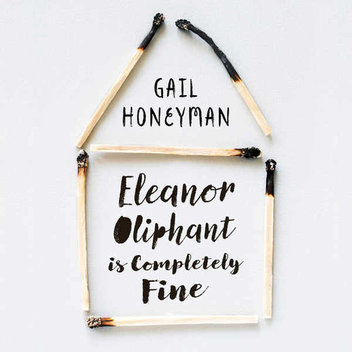Win a signed copy of Eleanor Oliphant is Completely Fine & a rose gold necklace