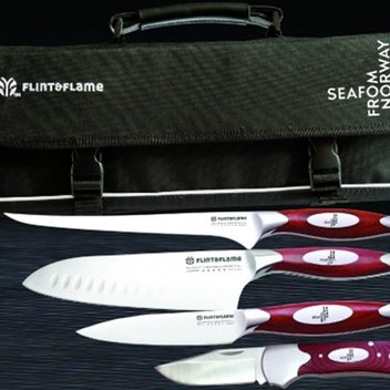 Win a professional knife collection by Flint & Flame worth over £400