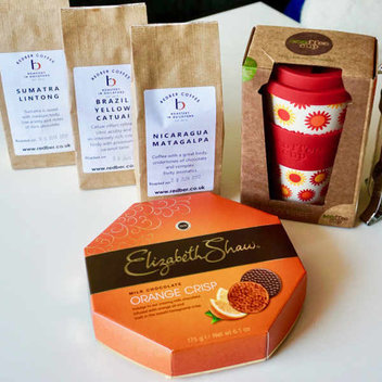 Claim a free coffee bundle from Elizabeth Shaw Luxury Chocolates