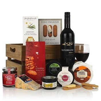 Take home The Big Cheese hamper from iHampers