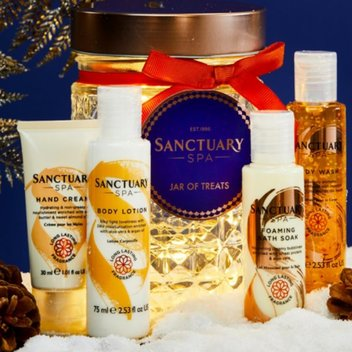Free Sanctuary Spa Jar Of Treats