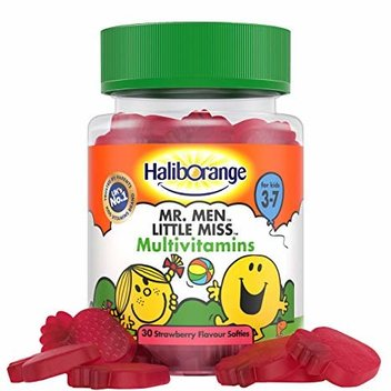 Free Mr.Men Little Miss Multivitamins Strawberry Flavour Softies