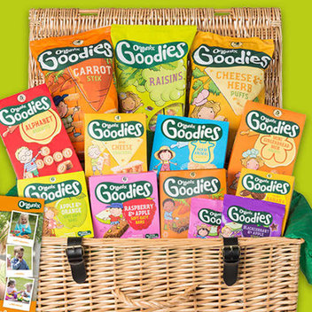 Try out Organix snacks for free