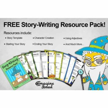 Free story packs from Imagine Forest