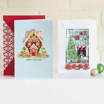 Request free Christmas card samples