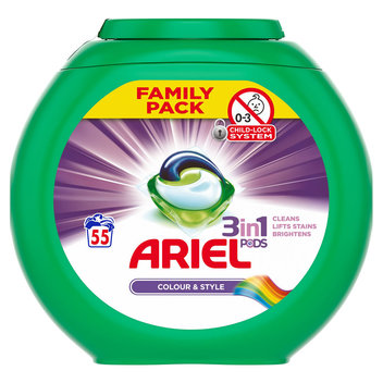 Free Ariel 3 In 1 Washing Pods & Fairy non-bio pods