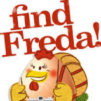 Freebies and a competition when you Find Freda